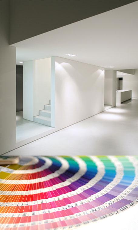 Kunstraum Schaffhausen - Raumkunst CasaShui : Farbgestaltung